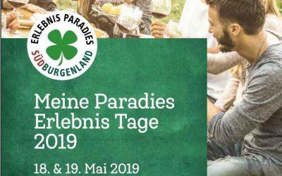 Paradiestage 18. und 19. Mai 2019
