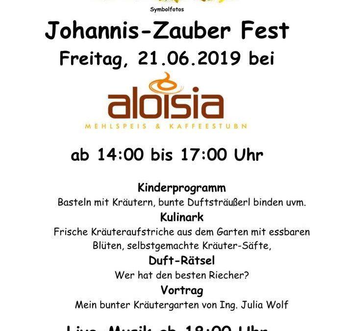 Johannis-Zauber Fest am 21.06.2019